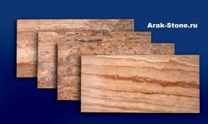Акция! Травертин плитка из Армении размер 300х600х12 за 40$